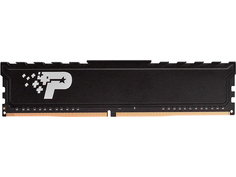 Модуль памяти Patriot Memory Signature Premium DDR4 DIMM 3200MHz PC25600 CL22 - 16Gb PSP416G320081H1