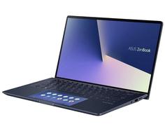 Ноутбук ASUS UX334FLC-A4110T 90NB0MW3-M06800 (Intel Core i7-10510U 1.8 GHz/16384Mb/512Gb SSD/nVidia GeForce MX250 2048Mb/Wi-Fi/Bluetooth/Cam/13.3/1920x1080/Windows 10 Home 64-bit)