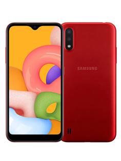 Сотовый телефон Samsung SM-M015F Galaxy M01 3Gb/32Gb Red Выгодный набор + серт. 200Р!!!