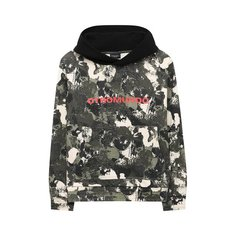 Хлопковое худи Marcelo Burlon Kids of Milan