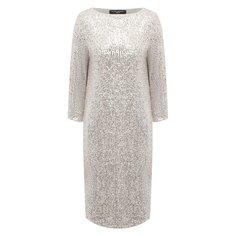 Платье с пайетками Pietro Brunelli