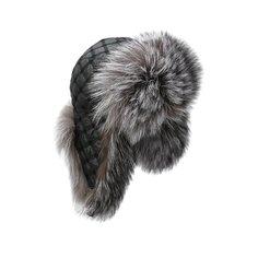 Меховая шапка-ушанка Kussenkovv