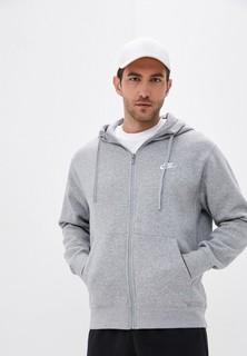 Толстовка Nike SPORTSWEAR CLUB FLEECE MENS FULL-ZIP HOODIE