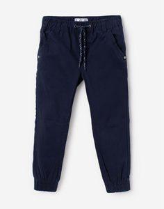 Тёмно-синие брюки-джоггеры для мальчика Gloria Jeans