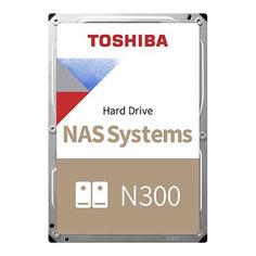 "Жесткий диск TOSHIBA N300 HDWG160EZSTA, 6ТБ, HDD, SATA III, 3.5"", RTL"