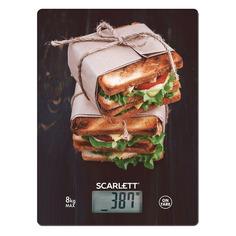 Весы кухонные SCARLETT SC-KS57P56, рисунок/сэндвичи