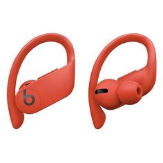 Наушники с микрофоном BEATS Powerbeats Pro, Bluetooth, вкладыши, красный огненный [mxya2ee/a]