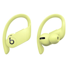 Наушники с микрофоном BEATS Powerbeats Pro, Bluetooth, вкладыши, желтый весенний [mxy92ee/a]