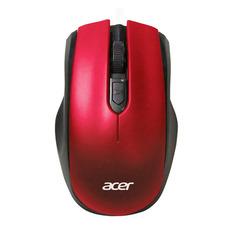 Мышь ACER OMR032, оптическая, беспроводная, USB, черный и красный [zl.mceee.009]
