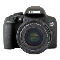 Зеркальный фотоаппарат CANON EOS 850D kit ( EF-S 18-135mm f/4-5.6 IS STM), черный