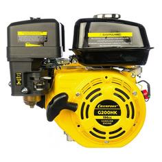 Двигатель бенз. Champion G200HK 4-х тактный 6.5л.с. 4.8кВт для садовой техники