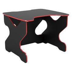 Стол игровой ВИТАЛ-ПК Ивент 1200, ЛДСП, черный и красный