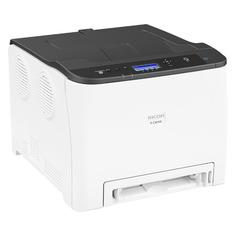 Принтер лазерный RICOH P C301W лазерный, цвет: серый [408335]