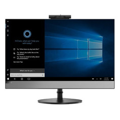 "Моноблок LENOVO V530-24ICB, 23.8"", Intel Core i3 9100T, 8ГБ, 256ГБ SSD, AMD Radeon 530 - 2048 Мб, DVD-RW, Windows 10 Professional, черный [10ux007xru]"