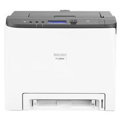 Принтер лазерный RICOH P C300W лазерный, цвет: белый [408333]