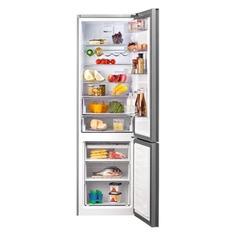 Холодильник BEKO RCNK400E20ZGB, двухкамерный, зеркальный/черный