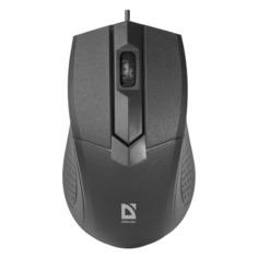 Мышь DEFENDER Optimum MB-270, оптическая, проводная, USB, черный [52270]