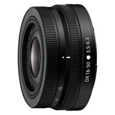Объектив NIKON 16-50mm f/3.5-6.3 Nikkor Z, Nikon Z, черный [jma706da]