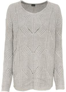 Пуловер с V-образным вырезом Bonprix