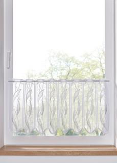 Короткие шторы Кухонная занавеска с жаккардовым узором (1 шт.) Bonprix