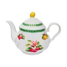 Чайник Thun 1794 Роза фрукты ivory 1,2 л
