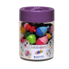 Развивающая игрушка Lalaboom Бусы из 48 частей
