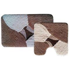 Комплект ковриков для ванной комнаты и туалета Dasch