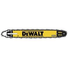 Шина с цепью для цепных пил DeWALT