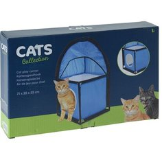 Домик для кошек Сats Collection 71x35x35 см cиний Без бренда