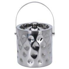 Ведро для льда нержавеющая сталь 15,5х15 см Без бренда