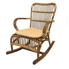 Кресло-качалка Jamul натуральный ротанг Без бренда