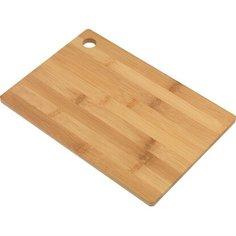 Доска разделочная кухонная бамбук 20x30x1 см Без бренда