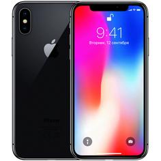 Смартфон Apple iPhone X 256 ГБ серый космос Refurbished