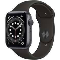 Смарт-часы Apple Watch Series 6 40 мм серый космос, спортивный ремешок