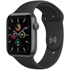 Смарт-часы Apple Watch SE 40 мм серый космос, спортивный ремешок