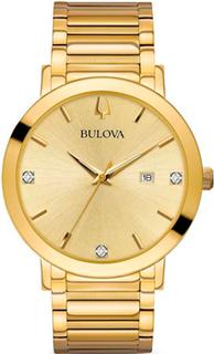 Японские наручные мужские часы Bulova 97D115. Коллекция Dress