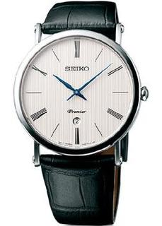 Японские наручные мужские часы Seiko SKP395P1. Коллекция Premier