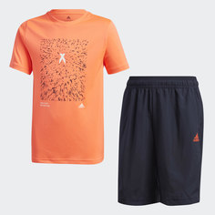 Комплект: футболка и шорты X AEROREADY adidas Performance
