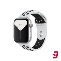 Смарт-часы Apple Watch S5 Nike+ 44mm Silver Sport Band (MX3V2RU/A)