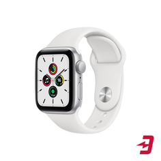 Смарт-часы Apple Watch SE 40mm Silver Aluminum Case with White Sport Band (MYDM2RU/A)