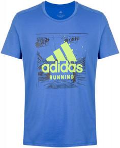 Футболка мужская adidas Fast Graphic, размер 44-46