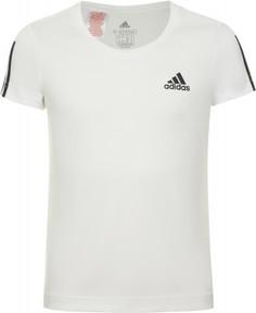 Футболка для девочек adidas Equipment, размер 140