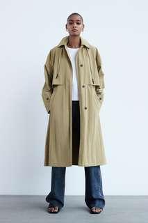 Тренч, лимитированная коллекция Zara
