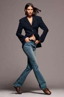 Расклешенные джинсы скинни premium hw flared skinny Zara
