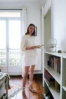 Джинсовая юбка с вышивкой «звезды» Zara