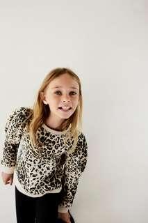 Толстовка с леопардовым принтом Zara