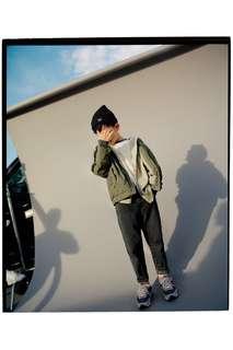 Куртка-бомбер с контрастными вставками Zara