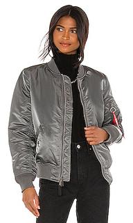 Куртка бомбер ma-1 - ALPHA INDUSTRIES