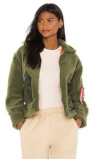 Куртка из искусственного меха utility - ALPHA INDUSTRIES