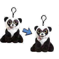 Мягкая игрушка-брелок Feisty Pets Панда, 11 см